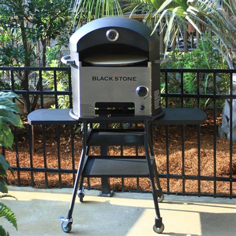 Oven Pizza Gas deals blackstone propane gas outdoor pizza oven on cart