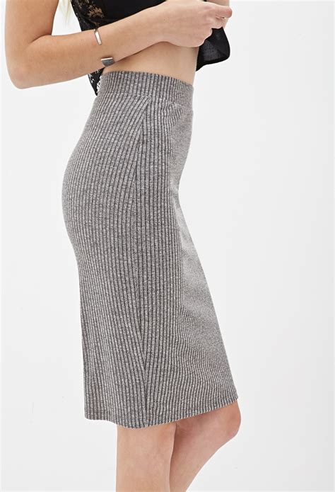 forever 21 ribbed knit pencil skirt you ve been added to