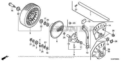 honda mower parts diagram honda hrr216k5 pdaa lawn mower usa vin mzcg 7800001 to