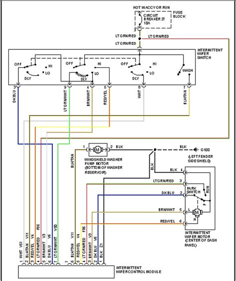 radio wiring diagram for 1996 jeep grand laredo