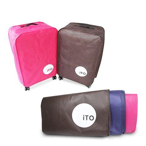 Luggage Cover Cover Pelindung Koper Ito luggage cover ito pelindung koper ito elevenia