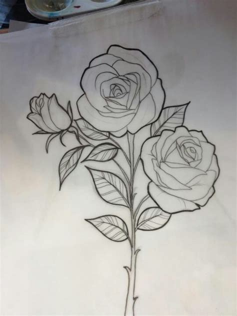how to draw doodle roses miss jo black sketch beautiful