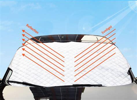 Sun Shield Roll Pelindung Panas Dimobil Car sun shade pelindung uv kaca mobil 190 x 100 cm silver jakartanotebook