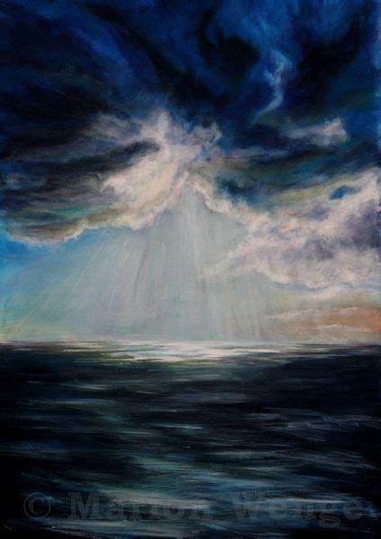 wann reißt der himmel auf bild himmel wolken licht meer infarbe bei kunstnet