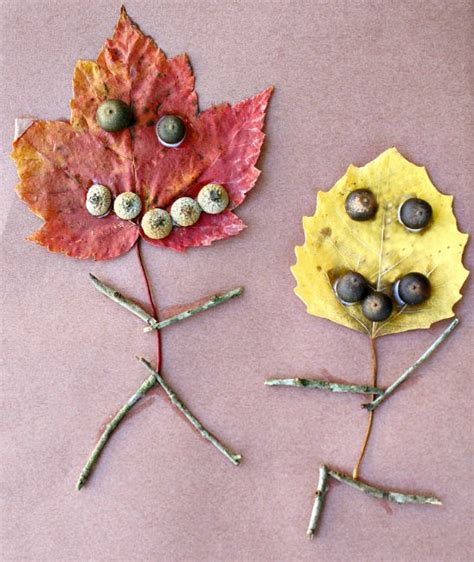 fall crafts for with leaves 45 of the cutest fall crafts for how wee learn