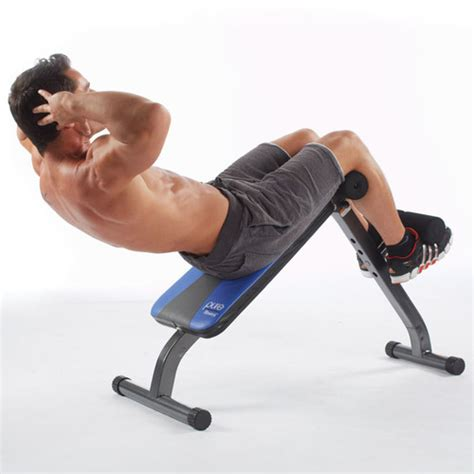 weighted bench crunch pure fitness crunch adjustable ab bench and sit up