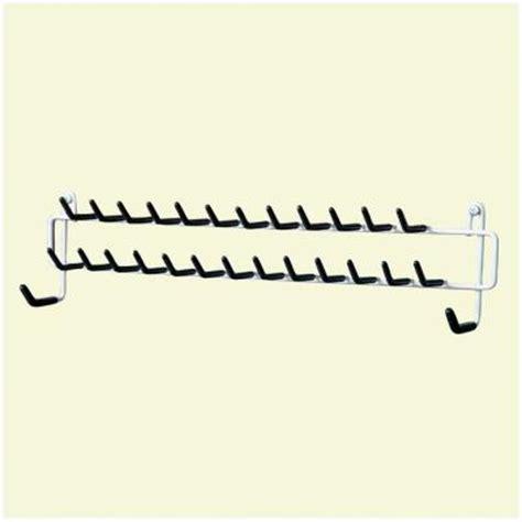 closetmaid 27 hook tie and belt rack 8051 the home depot