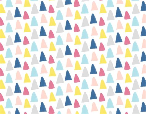 triangle pattern ea holly sims illustrator illustration design surface