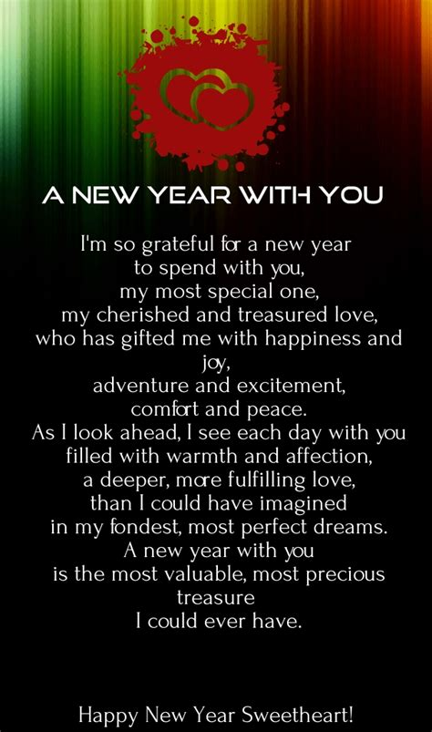 happy new year 2017 love poems with images quotes square