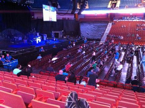 concert seats mohegan sun arena section 25 concert seating