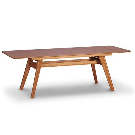 extendable table currant extendable dining table by greenington smart furniture