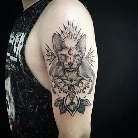 tattoo egypt cat egyptian tattoos to style your body