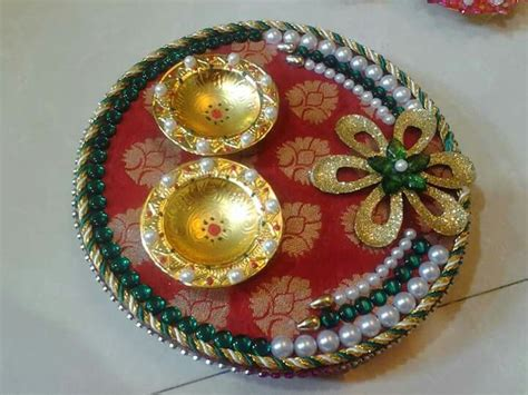 decorative aarti thali pictures wooden pooja thali mansi shah art pinterest craft
