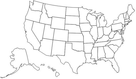 map of america without state names preparedness for disasters map of the us states
