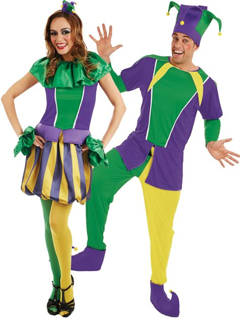 carnival themed costumes adults carnival jester costume all ladies fancy dress hub