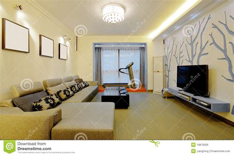 modern home decorating style stock photo image  living