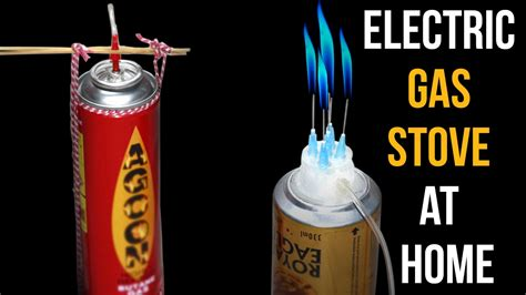 how to make an electric gas stove at home diy electric