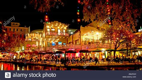 san antonio riverwalk lights san antonio river walk restaurants lights