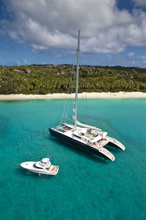 hemisphere catamaran superyacht yacht charter aboard hemisphere up for auction to benefit