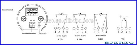 pt100 temperature transmitters wiring diagrams wiring