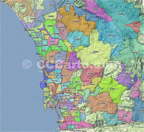 Search San Diego County San Diego Area Zip Code Map Zip Code Map