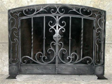 fireplace display wrought iron fireplace screens mather sullivan
