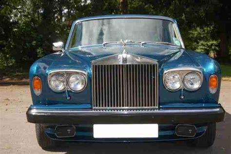 rolls royce peacock blue rolls royce 1981 x silver shadow series ii in peacock blue
