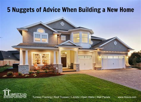 what to know when building a new house advice on building a house home design
