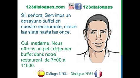 preguntas en frances en un hotel di 225 logo 56 espagnol franc 233 s hotel reservar habitaci 243 n