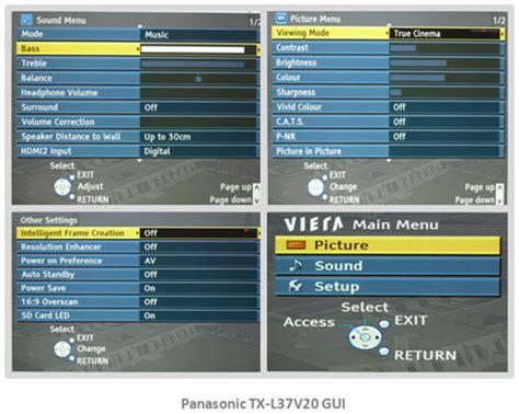 How To Reset L Meter On Panasonic Tv by Panasonic Tx L37v20b Txl37v20b Tx L37v20 Led Tv Review