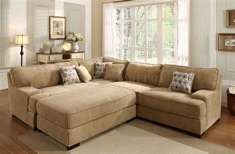 Large Sectional Sofa With Ottoman Sectional Sofa With Oversized Ottoman Cleanupflorida