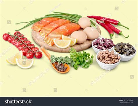 protein in salmon protein diet salmon stock photo 274086068