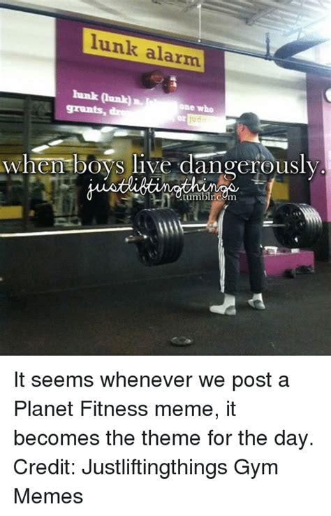 Planet Fitness Meme - 25 best memes about lunk alarm lunk alarm memes