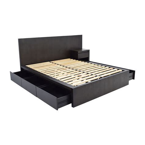 West Elm Platform Bed 54 West Elm West Elm Storage Platform Bed And Nightstand Beds