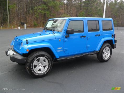 jeep blue cosmos blue 2012 jeep wrangler unlimited 4x4