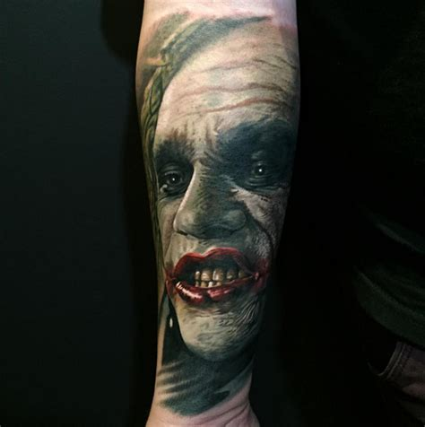 butcher tattoo jokey by steve butcher tattoos