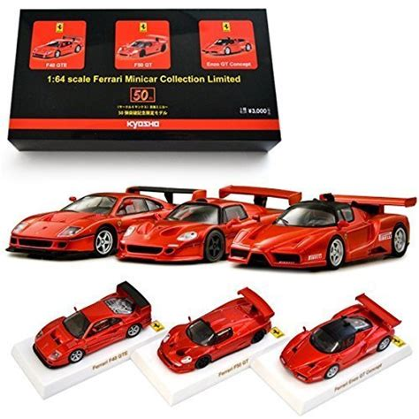 Burago Enzo Model Car Limited Edition 1 limited product kyosho 1 64 scale die cast miniature cars