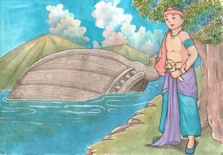 Legenda Dan Dongeng Nusantara Telaga Biru rakyat nusantara rakyat sangkuriang dan