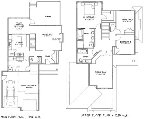 Pictures Of 2 Storey Modern Minimalist House Plan 4 Home House Floor Plans For 2