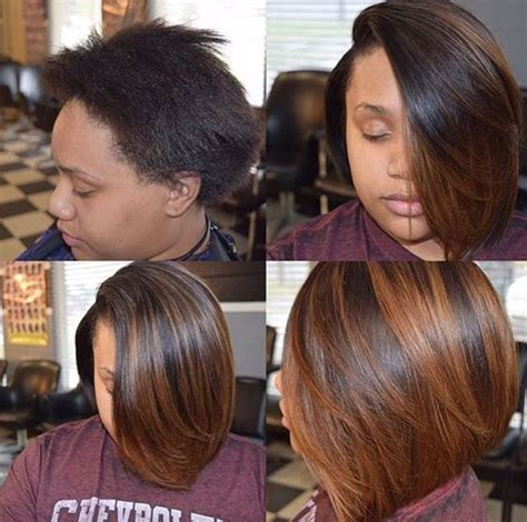 bob hairstyles extension bobs weave extensions and black hair on pinterest