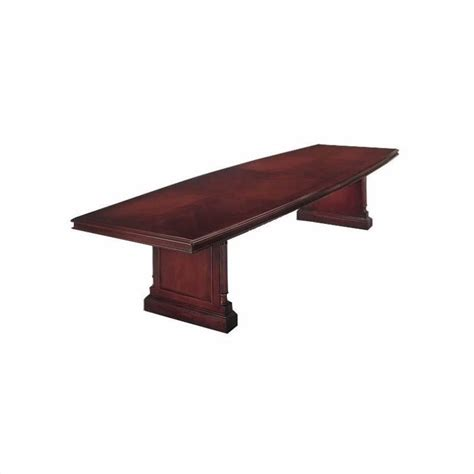 Boat Shaped Conference Table Flexsteel Keswick Boat Shaped 10 Conference Table In Cherry 7990 99