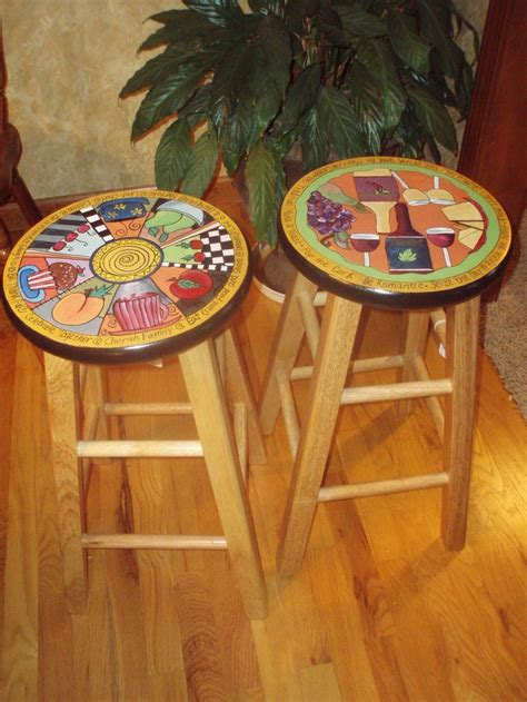 best 20 hand painted stools ideas on pinterest 10 images about funky fun furniture on pinterest folk