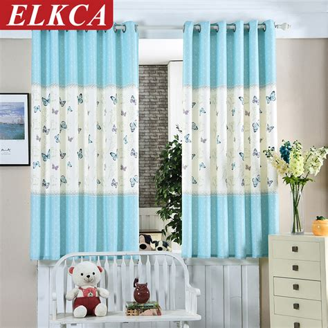 Popular Blue Butterfly Curtains Buy Cheap Blue Butterfly