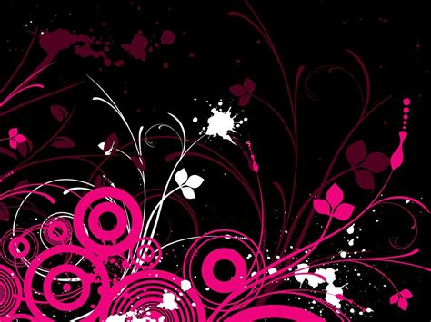 pink designs pink and black screensavers free hd wallpapers