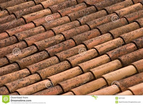 clay roof shingles stock image image  cover covering