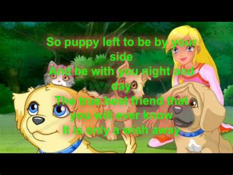 puppy song lyrics puppy in my pocket theme song lyrics
