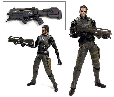 Gamis Square Adem by Play Arts Deus Ex Human Revolution Adam Www