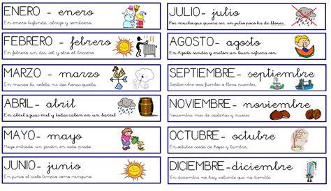 Calendario De Meses Ceip La Marquesa 1 186 Estaciones A 209 O