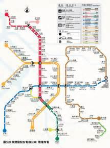 Taipei Metro Map by Taiwanease Com Taipei Mrt Mass Rapid Transit