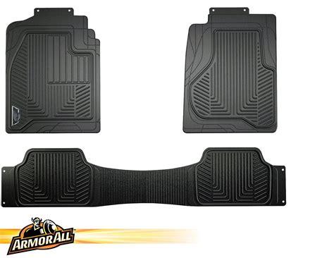 1 Floor Mats Trucks - armor all 78990 3 black heavy duty